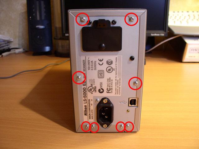 How to Clean a Nikon Super Coolscan 5000 ED